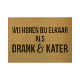 A6 - Drank en kater - Beezonder