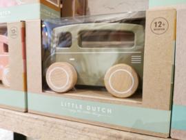 Little Dutch - Speelgoed auto olijfgroen