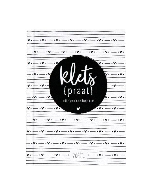 Kletspraat - Uitsprakenboekje - Zoedt