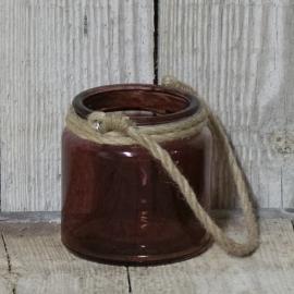 Waxinelichthouder Burgundy