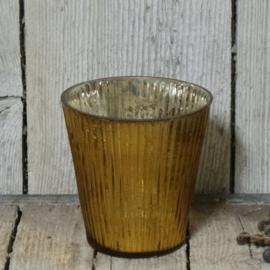Votive siena antique copper glans
