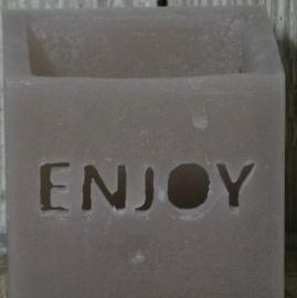 """Windlicht """"Enjoy"""""""