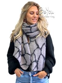 Sjaal Lotte Grijs