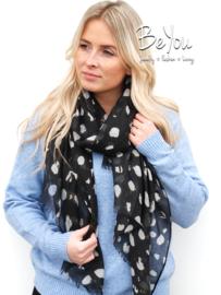 Sjaal Fanny Zwart