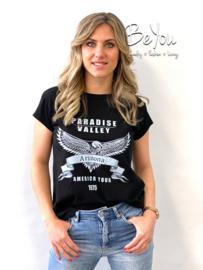 T-Shirt Arizona Zwart