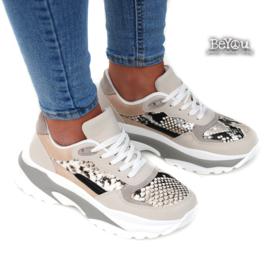 Chunky Sneaker Beau Grijs