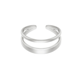 Ring Indy Zilver