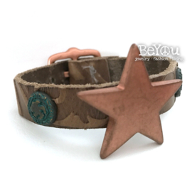 Rove Bracelet Star Turquoise Brown