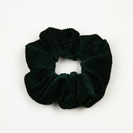 Scrunchie Rib Donker Groen