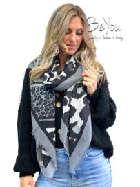 Sjaal Gigi Grijs