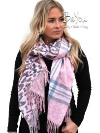 Sjaal Lily Roze