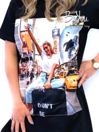 Big Shirt New York Zwart