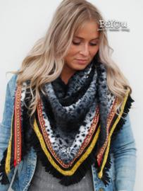 Sjaal Jade Panter Zwart