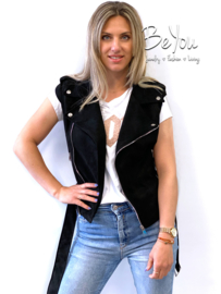 Gilet Louke Zwart