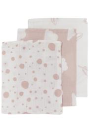 Meyco - 3 Pak washandjes Licht Roze