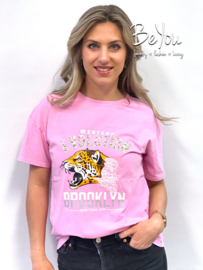 T-Shirt Brooklyn Roze