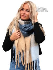 Sjaal Mare Blauw