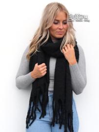 Sjaal Joy Zwart
