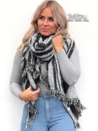 Sjaal Elize Zwart