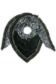 Sjaal Nila Panter Grijs