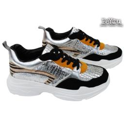 Chunky Sneaker Neva Zilver