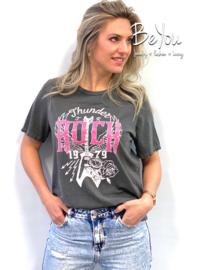 T-Shirt Rock Grijs