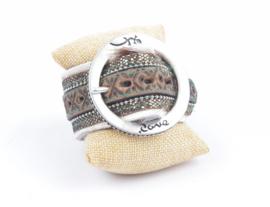 Rove Belt Bracelet Cow Brown