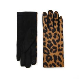 Handschoen Luna Panter Zwart