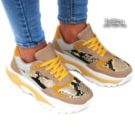 Chunky Sneaker Beau Oker