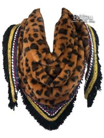 Sjaal Jade Luipaard Bruin