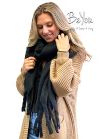 Sjaal Rae Zwart