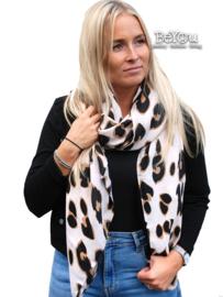 Sjaal Elke Beige