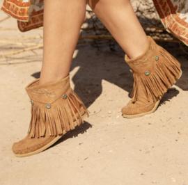 Enkel Boots Leya Camel