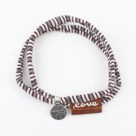 Rove Bracelet Stretch Grey