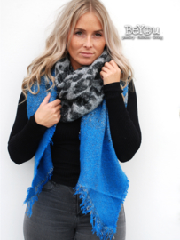 Sjaal Kaylee Blauw