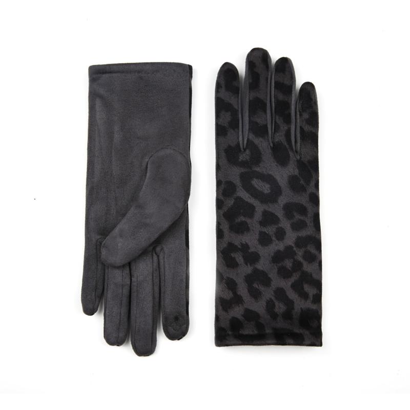 Handschoen Luna Panter Grijs