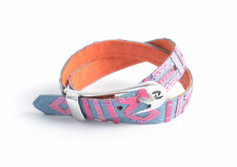 Rove Bracelet Sunny Blue Pink