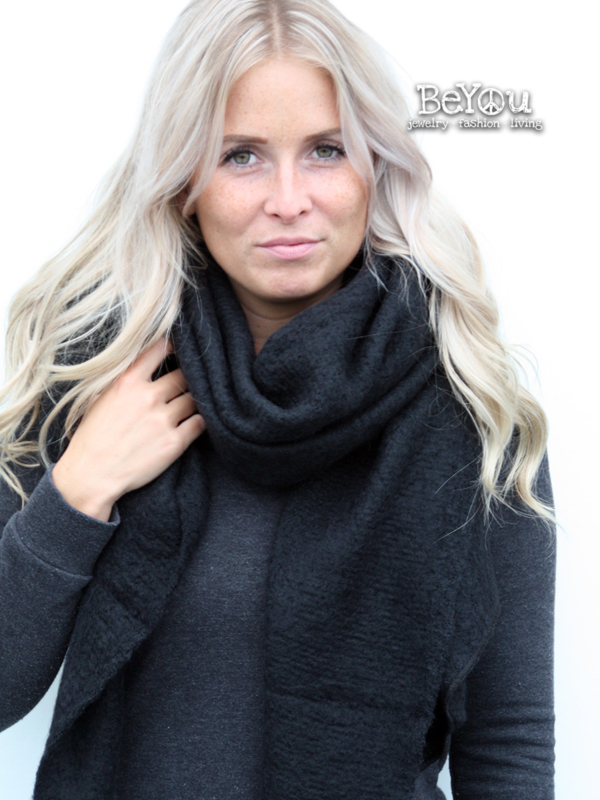 Sjaal Kate Zwart