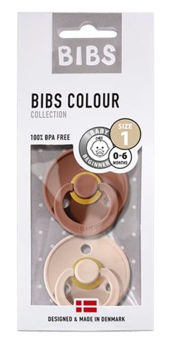 BIBS - Duo - Woodchcuk & Blush