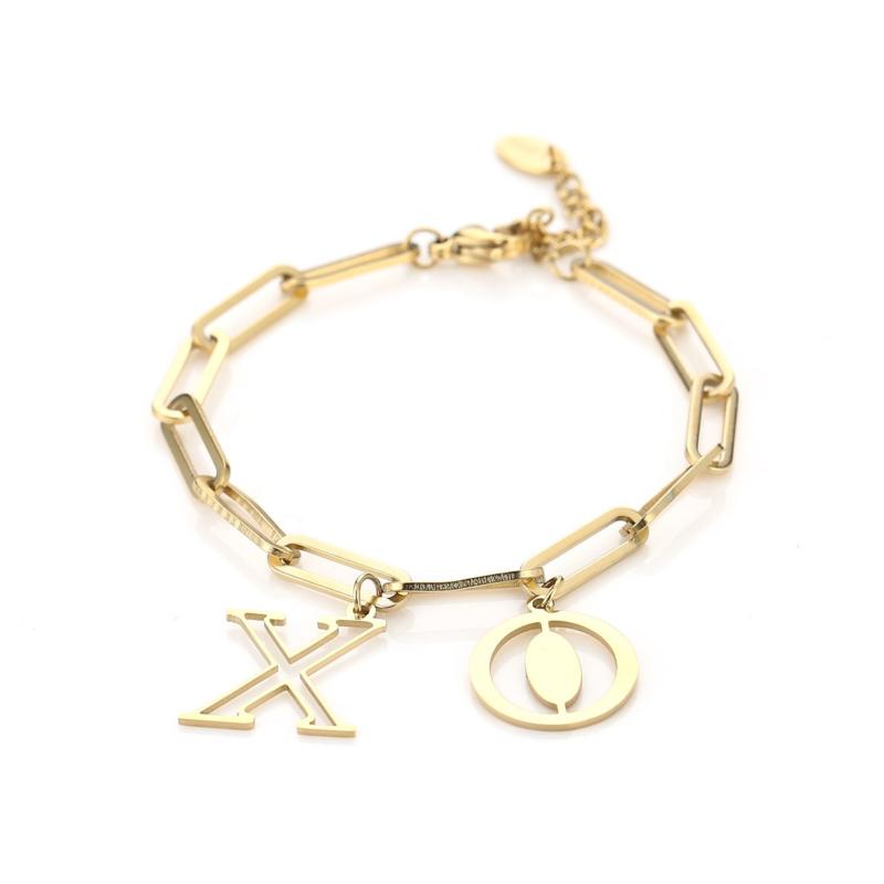 Armband XO Goud