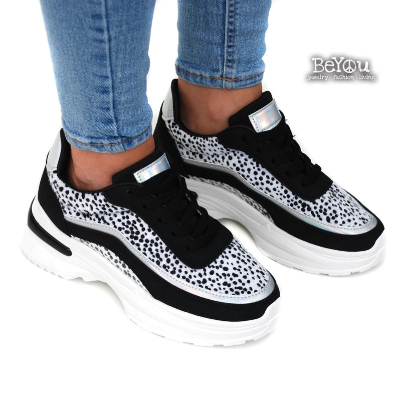 Chunky Sneaker Deb Zwart