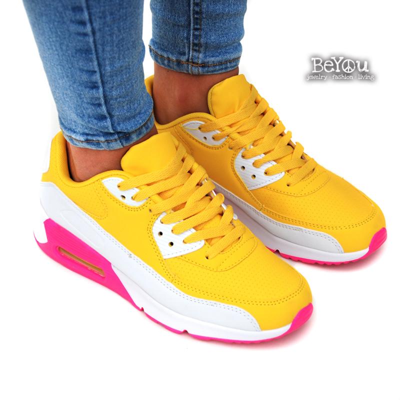 Sneaker Kiki Geel