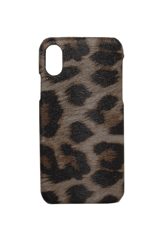 iPhone Cover Big Cougar Grey