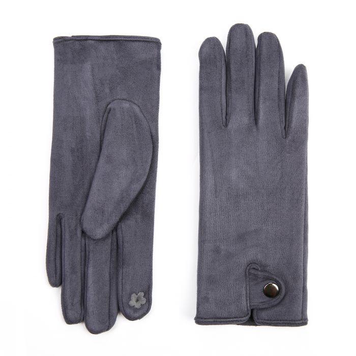 Handschoen Nika Donker Grijs