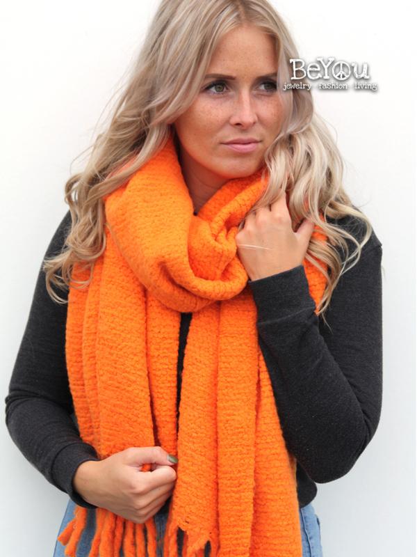 Sjaal Joy Oranje