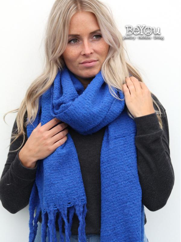 Sjaal Joy Blauw