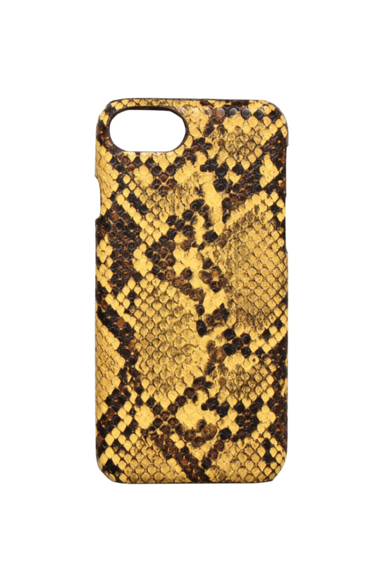 iPhone Cover Snake Yellow