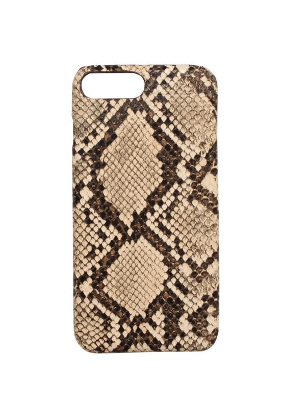 iPhone Cover Snake Ecru