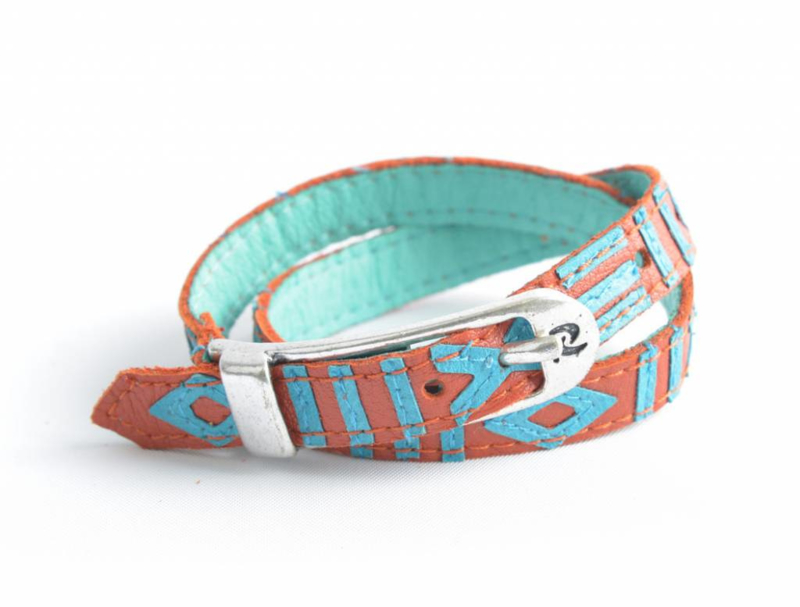 Rove Bracelet Sunny Camel Turquoise