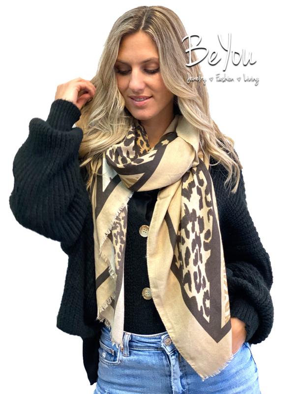 Sjaal Gigi Khaki